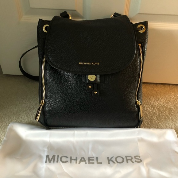 3b847eb41d87 Michael Kors Bags | Viv Large Leather Backpack | Poshmark